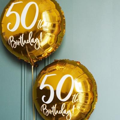 """Happy Birthday 18"""" (46cm)"""