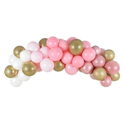 Luk od balona Roze mix - 200cm